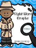 Sight Word Graphs - Primer Dolch Words