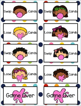 Sight Word Gumball Fry Words 1-100