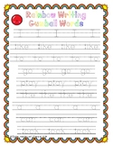 Sight Word Gumball Rainbow Write