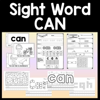Sight Word HOW Activities {6 Literacy Center Activities!}