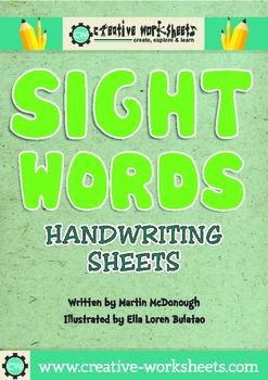 Sight Words: Handwriting