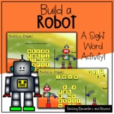 "Build a Robot: Mystery Sight Word ""Hangman"" Twist Game | D"
