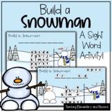 "Build a Snowman: Mystery Sight Word ""Hangman"" Twist Game |"