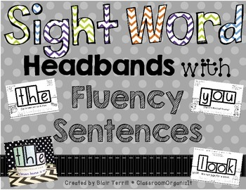 Sight Word Headbands
