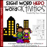 Sight Word Practice -  High Frequency Word Practice /Activities