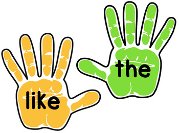Sight Word Hi-Five Game