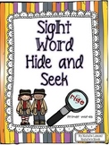 Sight Word Hide and Seek {Dolch Primer Words}