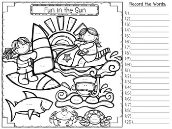 Sight Word Hide and Seek {Fry's Lists 100, 200, 300} ~ BUNDLE
