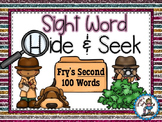 Sight Word Hide and Seek {Fry's Second 100 Words}