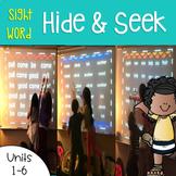 Sight Word Games of Hide and Seek 1st grade {Bundle}