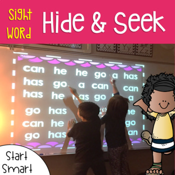 Sight Word Games of Hide and Seek 1st grade {Start Smart}