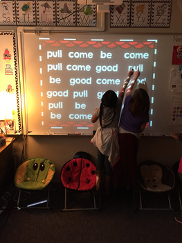 Sight Word Games of Hide and Seek for Reading Wonders 1st grade {Unit 4}