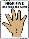 Sight Word High Five & Fist Bump