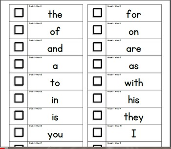 Sight Word High Frequency Sticker Book