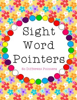 Sight Word / High Frequency Word Pointers