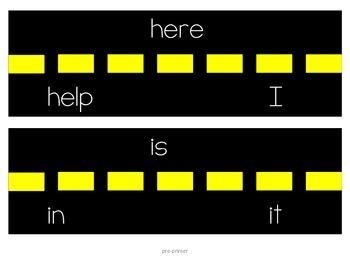 Sight Word Highway