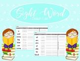 Sight Word Homework - Handwriting Practice