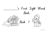 Sight Word Homework PM Level 1