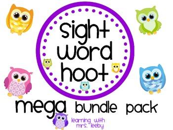 Sight Word Hoot - Mega Bundle Pack