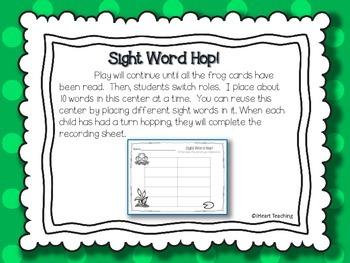 Sight Word Hop! {Fry List 101 - 200}