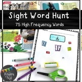 Sight Word Practice; Sight Word Hunt (75 High-Frequency Words) K,1st