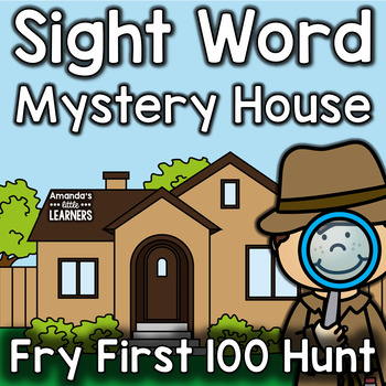 Sight Word Game - Mystery Hunt - Editable