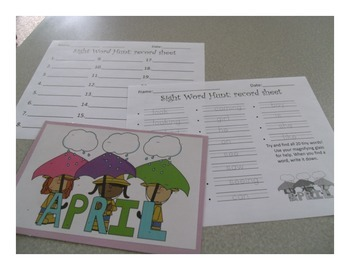Sight Word Hunts: Whole Year