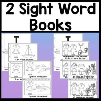Sight Word I {2 Books and 4 Worksheets!} {Sight Word of the Day}