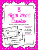 "Sight Word ""I"" Emergent Reader"