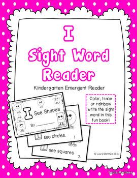 "Sight Word ""I"" Emergent Reader"