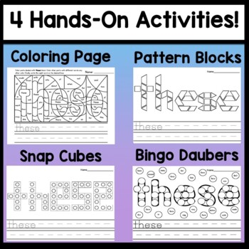 Sight Word IS {2 Sight Word Books and 4 Worksheets!}