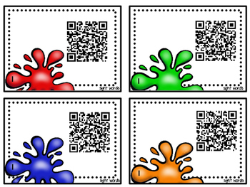 Sight Word Identification with QR Code Recordings