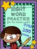 Sight Word Independent Practice