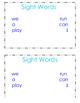 Sight Word Individual Book