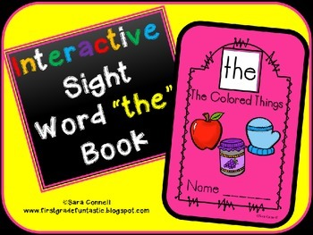 Sight Word Interactive Book *the*