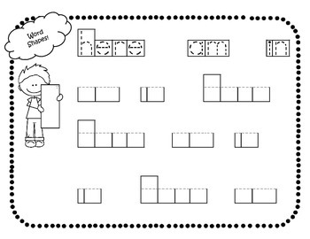 """Sight Word Interactive Booklet """"in here am"""""""