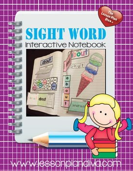 Sight Word Interactive Notebook