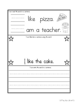 Benchmark Advance Interactive Sight Word Notebook