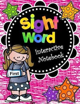 Sight Word Interactive Notebook - First Grade Edition
