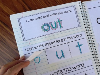 Sight Word Interactive Notebook - Fry 51-100