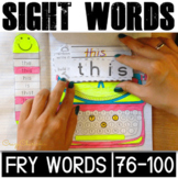 Fry Sight Words Activities (76-100)
