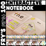 Sight Word Interactive Notebook Fry's First 100 Bundle