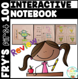 Sight Word Interactive Notebook Fry's First 100 Review