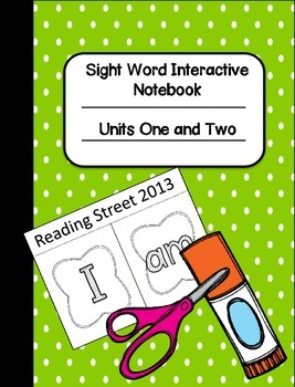 Sight Word Interactive Notebook Pack One