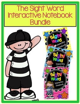 Sight Word Interactive Notebook - The BUNDLE