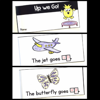 Sight Word Interactive Readers: Set 3 Books