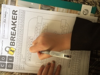 Dolch 100 Sight Words {code breaker} {activity}