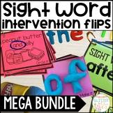 Sight Word Intervention Flip Books MEGA BUNDLE!