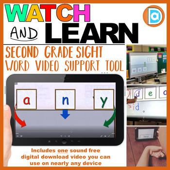 Sight Word Intervention Tool | 2nd Grade | Any