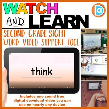 RTI | Second Grade Sight Word Fluency Tool | Think